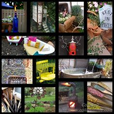 More than 100 upcycle garden ideas