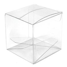 Transparent Acetate Favor Box Pack of 10