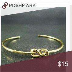 Gold Plated infinity Open Bracelet New Brand New zdazzled Jewelry Bracelets