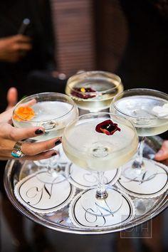 Receipe for a elderflower white cosmopolitan wedding signature cocktail | Brides.com