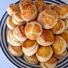 British scone contains less butter than American scones, because it is served with heavy cream or butter & jam! click here to get the recipe :) Have a nice weekend