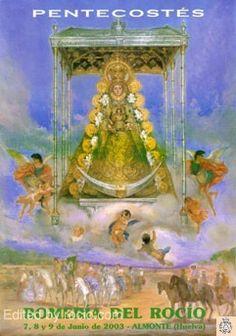 Almonte, Painting, Saints, Poster, Fiestas, Painting Art, Paintings, Painted Canvas, Drawings