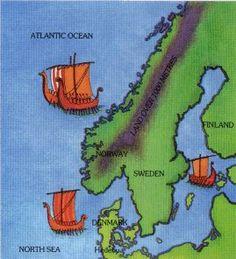 Scandinavian Vikings | Scandinavia - the home of the Vikings.