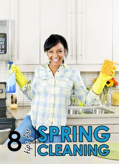 Top 8 Tips for Spring Cleaning Your Home - Tipsaholic.com #cleaning #spring_clean #home