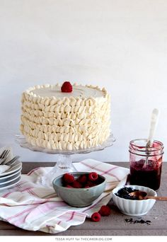 Raspberry Earl Grey Cake   37 Delicious Desserts You Can Make With Tea