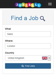 Find jobs across the UK online and android app www.jobsball.co.uk