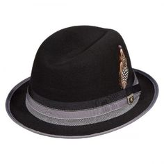 Crushable Center Dent Fedora Hat available at  VillageHatShop Hat Shop e50f2885abf
