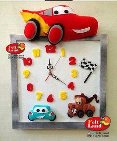 Autka Crafts Fir Kids, Felt Crafts, Diy And Crafts, Baby Birthday Decorations, Baby Room Design, Diy Clock, Felt Baby, Busy Book, Felt Toys