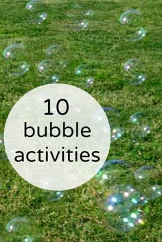 Bubble activities for kids. Ideas to keep summer fun interesting. 5 gal bucket hot water, large bottle dawn, and 2 large bottles of corn syrup. Bubble Activities, Camping Activities, Summer Activities, Toddler Activities, Learning Activities, Outdoor Activities, Bubble Fun, Bubble Party, Giant Bubble Wands