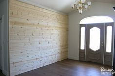 How to build a sliding wall to create a secret room. Details on Design Dazzle