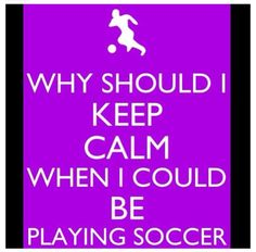 I may not be a sporty girl but I LOVE soccer like I am