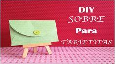 Aprende a hacer un sobre para tus tarjetas de felicitación.  http://youtu.be/qzSp36AggZA