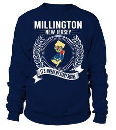 Millington, New Jersey Its Where My Story Begins T-Shirt #Millington