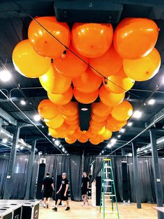 BIG balloons mean BIG impact at any event.        #balloons, #balloondecorating, #lotparty.com,  #bigballoons #Factory220
