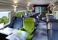 TGV Europe High Speed Train - took this visually glorious train from Lausanne, Switzerland to Paris. Magnifique! JM
