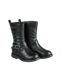 Pumpkin Patch - footwear - girls tall classic boot - W5FW50001 - black - 6 to 5l
