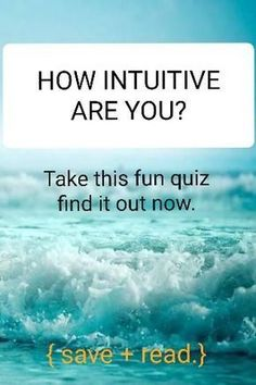 Want to know how intuitive you are? This quiz is for you. I also included some helpful and effective tips to strengthen your intuition, no matter how much you score in this quiz :) check it out! Spiritual Guidance, Spiritual Wisdom, Spiritual Growth, Spiritual Awakening, Spiritual Health, Mental Health, Intuition Quotes, Spiritual Development, Personal Development
