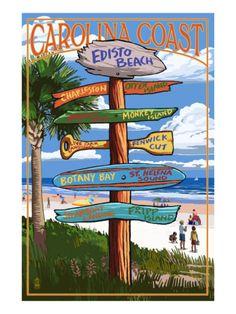 Long Beach Island, New Jersey - Destinations Sign - Lantern Press Artwork Giclee Art Print, Gallery Framed, Silver Wood), Multi Myrtle Beach Sc, Pismo Beach, Newport Beach, Hilton Head Island, San Diego, Florida Keys, West Florida, Venice Florida, Venice Beach
