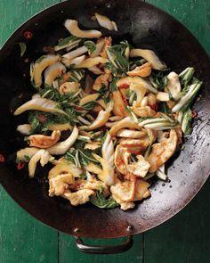 Stir-Fried Chicken with Bok Choy