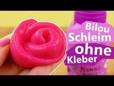 Bilou Slime OHNE Kleber | Pinken Schleim selber machen | Super einfach mit Bilou Plummy Kiss - YouTube