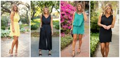 What to Wear For All Of Your Upcoming Events - Living in Yellow Living In Yellow, Scalloped Skirt, Tie Waist Shorts, Wide Leg Cropped Pants, Brunch Wedding, Summer Events, Upcoming Events, Spring Collection, New Outfits