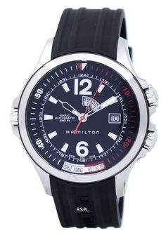 35e6e793ea9  Hamilton  Khaki Navy GMT Automatic H77555335 Men s Watch Hamilton Khaki  Navy