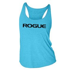 Women's Rogue Turquoise Tank. Rogue Fitness