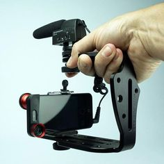 So you want to do more with your smartphone camera? The Diff Cinema Rig Camera Cage is a simple kit that turns your smartphone into a pro video rig. Photography Gear, Iphone Photography, Video Photography, Mobile Photography, Photography Equipment, Wedding Photography, Camera Rig, Iphone Camera, Camera Gear