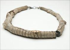 One twig necklace  twig    Silke Spitzer, Germany  Ganoksin