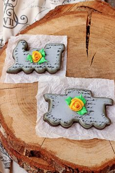How to Make Vintage Train Cookies with How to Video and Step by Step Tutorial   The Bearfoot Baker