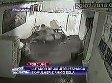 Galdino Saquarema Noticia: Lutador de jiu-jitsu espanca ex-mulher e amigo dela..