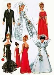 Resultado de imagem para Barbie Clothes Free Sewing Patterns Free Barbie Doll Clothes