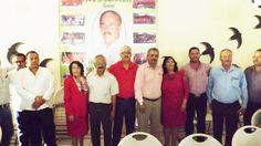 Sección 3 del SNTE Homenajea a los Profesores Jorge H Galindo, Cesar H Lara y a la C. María del Carmen de los Santos González