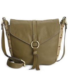 Nanette Lepore Flap Crossbody Saddle Bag