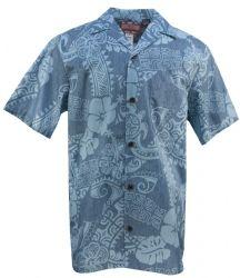 Honu Hibiscus Mens Hawaiian Aloha Shirt in Slate, Mens Hawaiian Shirts Clothing, Paradise Clothing, Mens Hawaiian Shirts, Aloha Shirt, Clothing Co, Hibiscus, Shirt Outfit, Men Casual, Slate, Oc