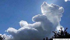 クマのプーさんそっくりな雲が出現!?世界中で話題に                                                       …
