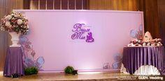 GUDY Wedding 婚禮設計 - 婚禮佈置♥W-hotel 復古X紫色系婚禮佈置
