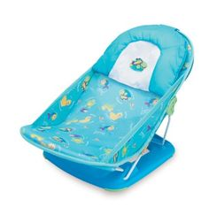 Amazon com summer infant mother s touch deluxe baby bather blue
