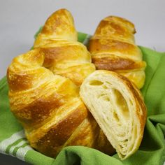 "Perfekte Croissants (vegane ""Butter""-Croissants)"