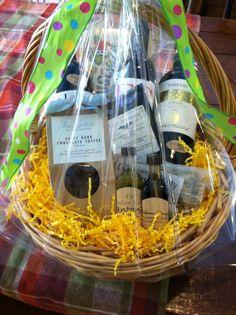 We make custom gift baskets to order. Just call 920.922.2499