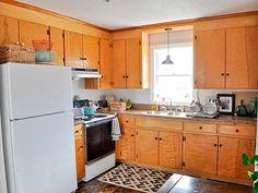 Antes: Muebles de cocina más modernos