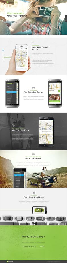 hlk | mapquest  Love the way they laid out their work and mockups for each client