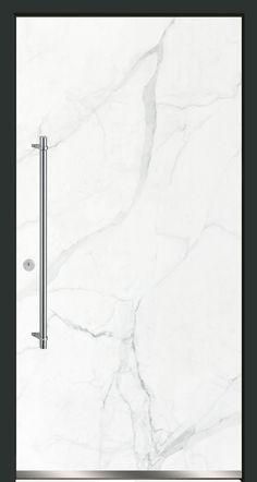 Haustür in Natursteinoptik mit CERAMAX Hybridceramic. CERADOOR, Design OPUS 01.10.