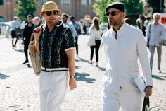 Pitti Uomo is where the style world's most advanced menswear peacocks come to roost, and this year's batch of street style snaps prove nothing has changed.