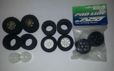 Lot of Solid Foam 1/12th Scale RC Tires