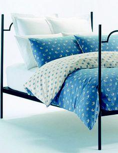 Karen Walker Home - Ditsy Whale Bed Linen in Blue