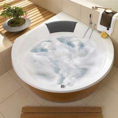 Spazio Badewanne in Acryl, 2000x1400mm, Tiefe 480mm, für zwei ...
