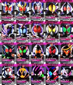 仮面ライダー Kamen Rider Decade, Kamen Rider Series, Mega Pokemon, Kamen Rider Zi O, Boboiboy Galaxy, Hero Time, Batman Family, Manga Artist, Marvel Entertainment