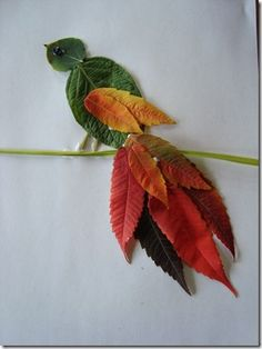 HOTM Fall Leaf Animal Craft | Confessions of a Homeschooler