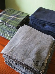 Easy Jeans and Fleece Rag Quilt ~ Tutorial - Crystelle Boutique